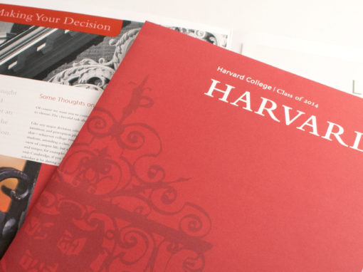 Harvard College: Undergraduate Admissions Package