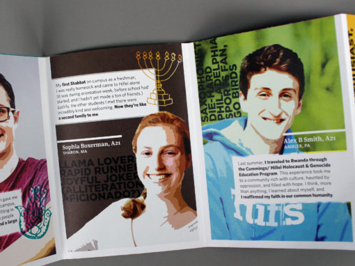 Tufts Hillel: Annual Highlights Brochures