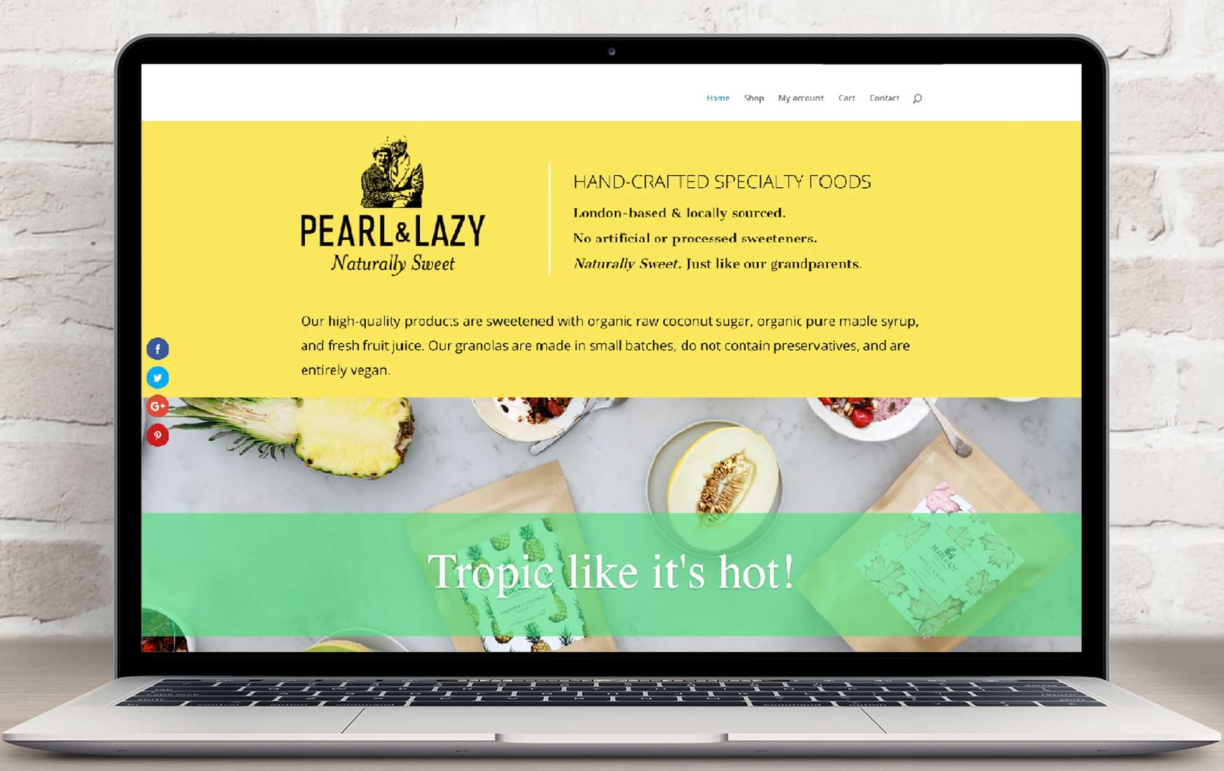 Pearl and Lazy Website