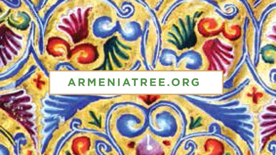 red, purple, blue, green flower pattern with text Amermian Tree.org