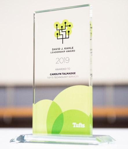 glass David J. Kahle Leadership Award