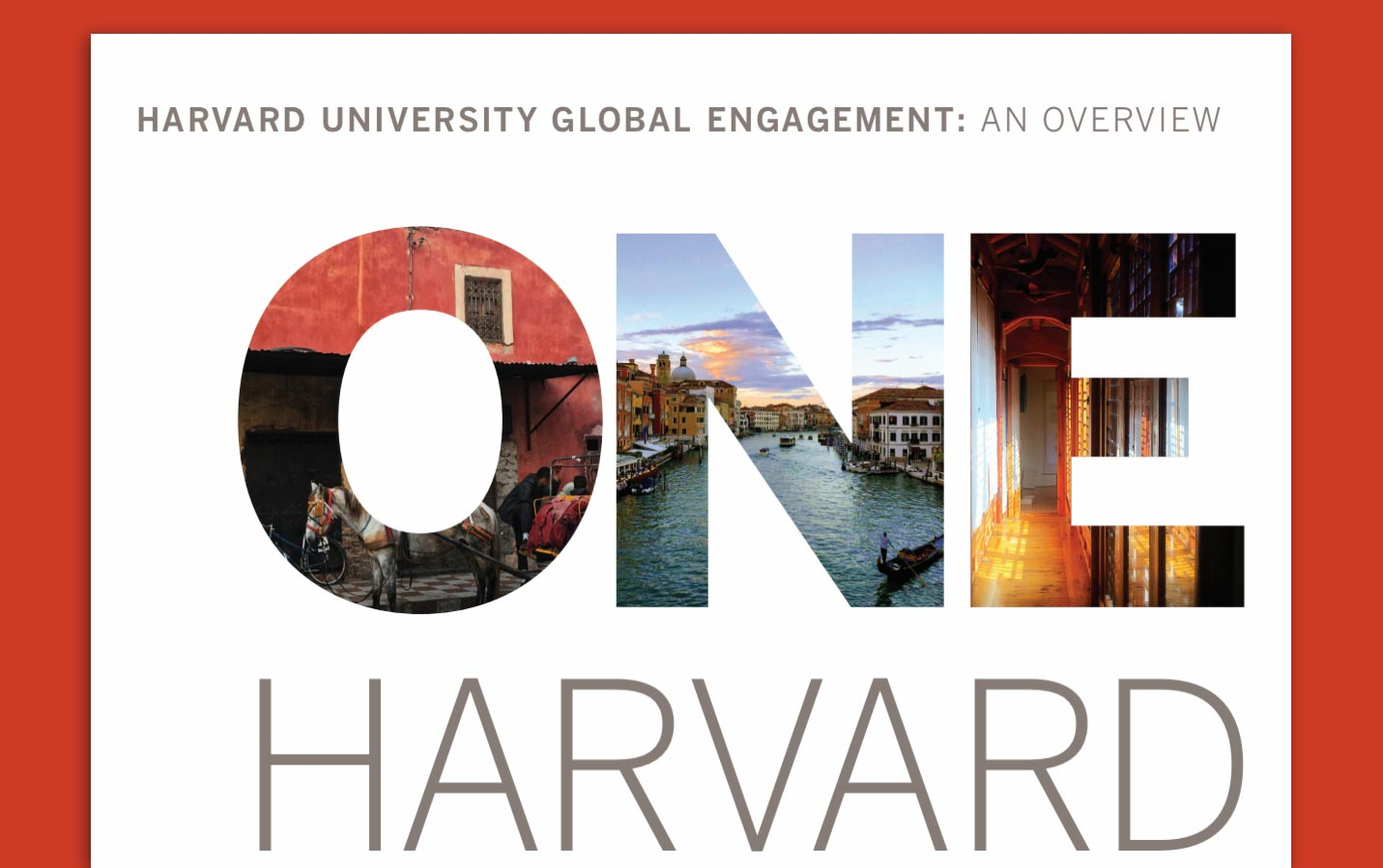 Harvard Global Engagement